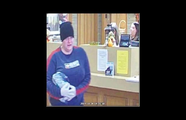 Avinger woman arrested for bank robbery