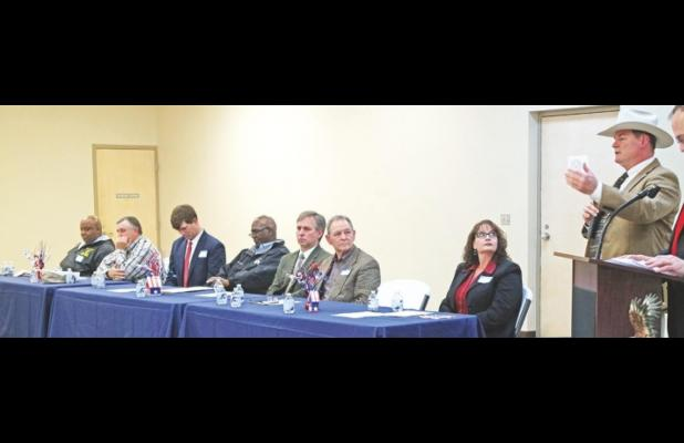 Political forum gives residents opportunity to hear from candidates