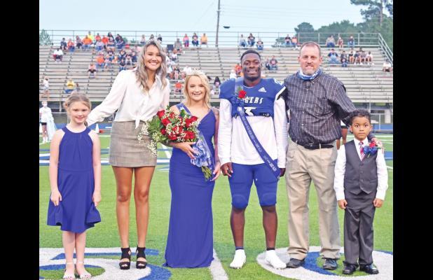 Barron, Jeter named Homecoming Royalty