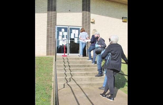Morris County voters cast early ballots