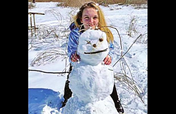 Area residents use snow to make unforgettable memories
