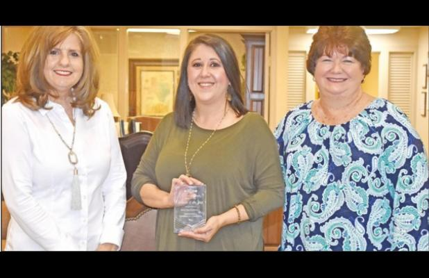 Harrell accepts B&PW Woman of the Year