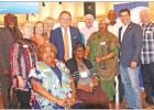 Senator Hughes and State Rep Hefner attend luncheon
