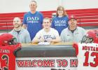 Mustangs sign to play collegiate football